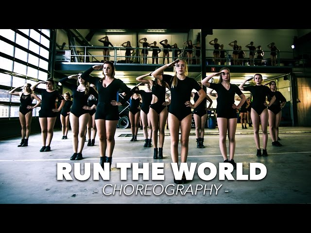 Beyoncé - Run the World (Girls) - Choreography / dancing video