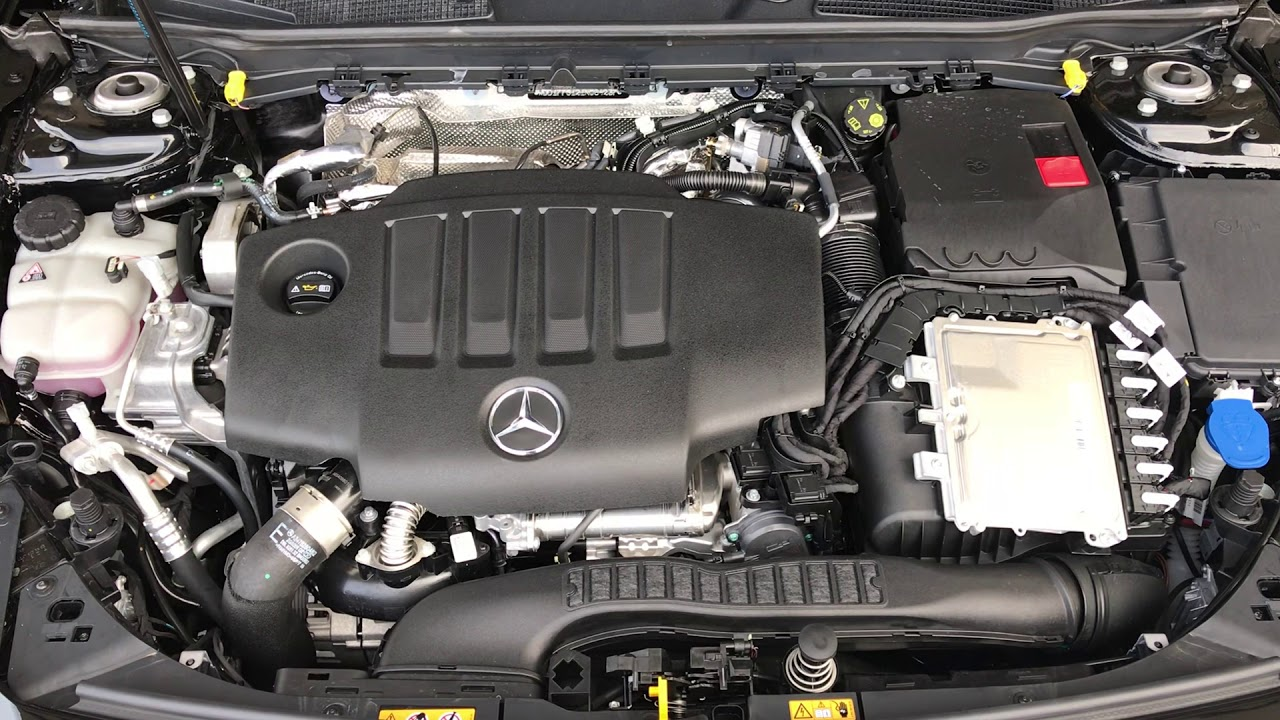 Diagram Of Engine Mercedes 200d
