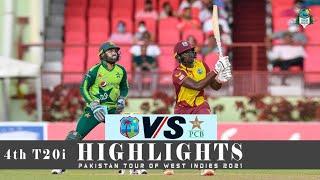 West Indies vs Pakistan Highlights | 4th T20i | Pakistan tour of West Indies 2021