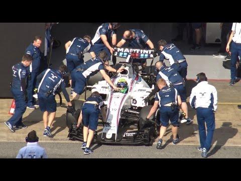 Felipe Massa | Williams Martini FW40 F1 Test by Jaume Soler