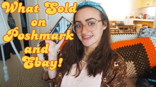 Sold 7 Items for $120! | Another Slow Week | What Sold on Poshmark and Ebay | Part Time Reseller