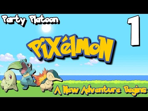 Party Platoon | Pixelmon: Gold/Silver (#1) A New Adventure Begins