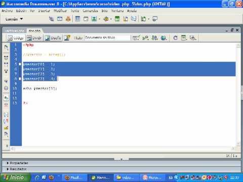 VideoTutorial 5 del Curso de PHP y MySQL