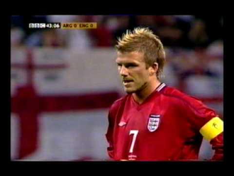 David Beckham Penalties & Free Kicks