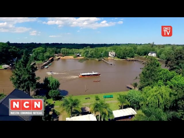 CINCO TV  - Tigre advirte que las aguas del río no son aptas para consumo ni uso recreativo