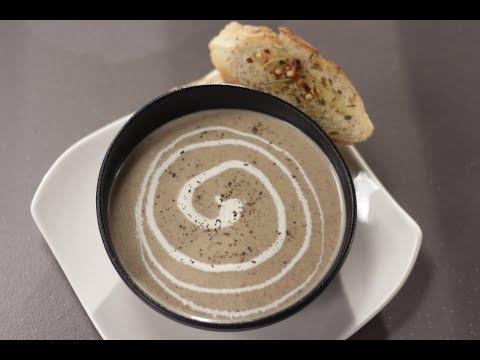 Cream Of Mushroom Soup | Sanjeev Kapoor Khazana
