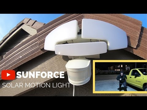 Sunforce Solar motion light from Costco  ($44.99)