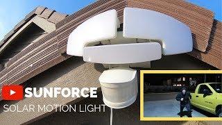Sunforce Solar motion light from Costco  ($44.99)