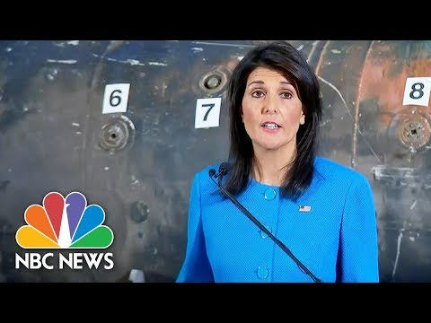 Nikki Haley Displays Missile, Other Evidence Iran Supplying Yemen Rebels | NBC News