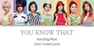 AOA - YOU KNOW THAT (말이 안 통해) [Color Coded Han|Rom...