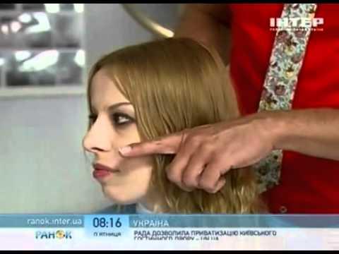 Как скрыть большой нос с помощью прически