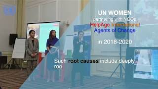 UN Women launches a new project on ending violence against women