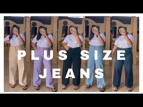 REVIEW | รีวิวจัดเต็ม กางเกงยีนส์สำหรับสาวPlus size (ร้านในinstagram) | YINGKAN K.