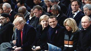 Ravel - Bolero, the ceremony at the Arc de Triomphe in Paris 11-11-2018