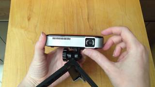 APEMAN M4 Mini Pocket Digital Projector - 854x480 native resolution