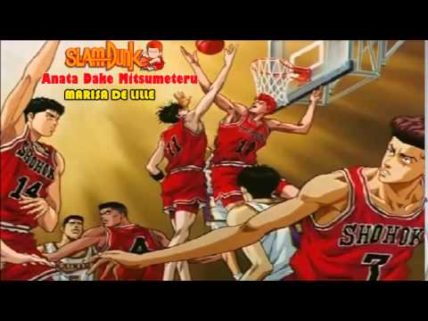 Slam Dun End 1 -Anata dake mitsumeteru- W / Lirics + Sub ...