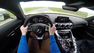 Mercedes AMG GT 462HP POV test drive GoPro