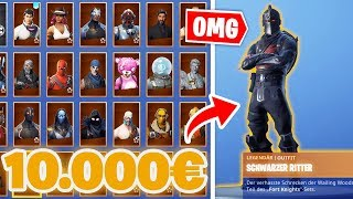 I LOSE my 10,000€ Fortnite SEASON 1 account! | Fortnite Account raffle