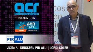 Visita a Kingspan PIR ALU durante AHR Expo Orlando 2020