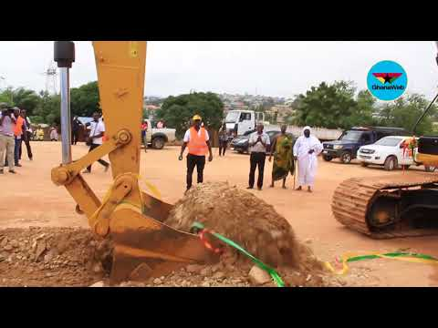 Government cuts sod for construction of Pokuase interchange