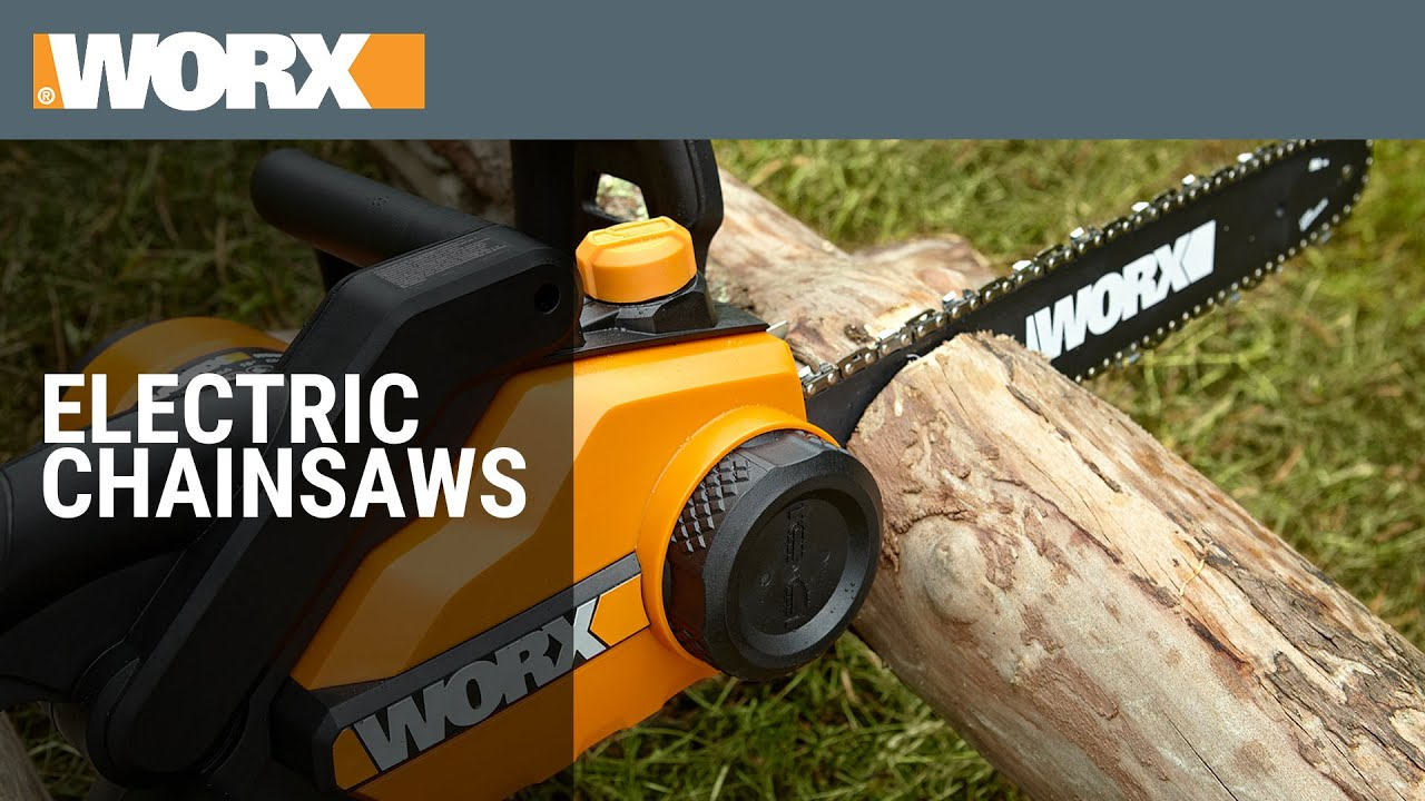 Worx electric chainsaws youtube keyboard keysfo
