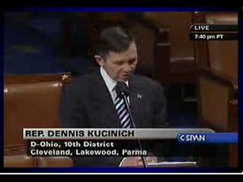 Kucinich: Articles of Impeachment 23.