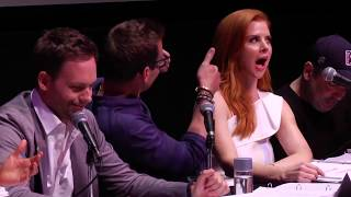 sarah rafferty and gabriel machts best moments at the atx tv festival