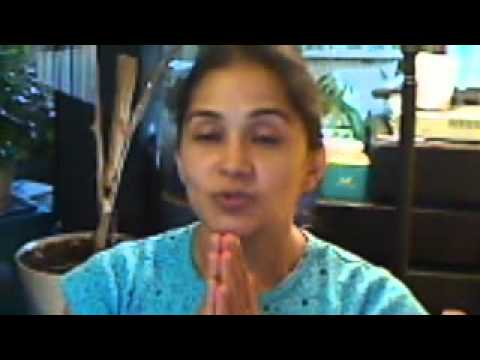 The simple meaning of namaste - a common yoga greeting.
