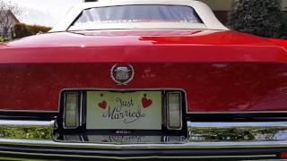 Cadillac Eldorado CZERWONY_okiem ślubnym