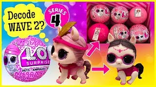 LOL Surprise SERIES 4 Pets | ShowPony Found | Decode WAVE 2 Pets | Weight & Ball Position
