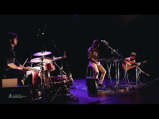 El Mati (cante), David Caro (guitarra) y Javi Rabadán (percusión) - Malagueña y Abandolao