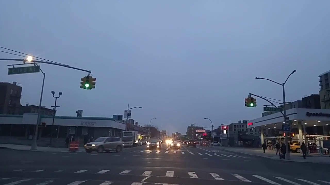 Driving By Claremont Village In The Bronx,New York - Youtube-9590