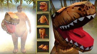 КОСТЮМ ТИ-РЕКСА ОТПУГИВАЕТ ДИНОЗАВРОВ! САМОЕ СМЕШНОЕ ОБНОВЛЕНИЕ 1.1.14! - Jurassic Survival