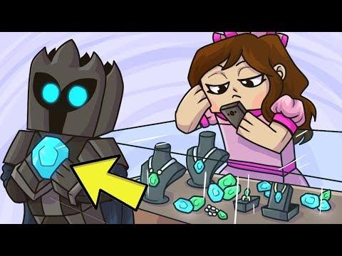 Minecraft: ROBBERY SIMULATOR!!! (ROB STORES & EARN MONEY!) Mini-Game
