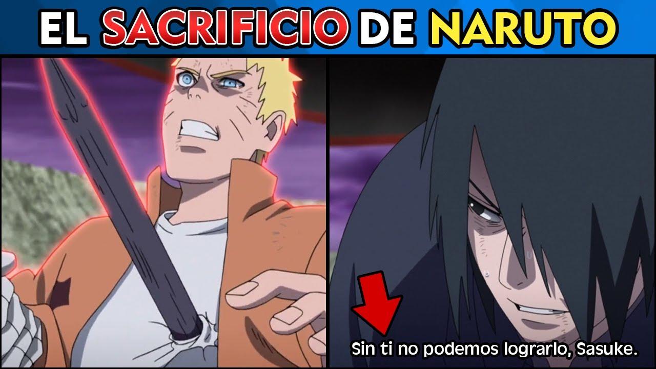 Explicación: Por qué Naruto se SACRIFICÓ por Sasuke? - Boruto cap 204