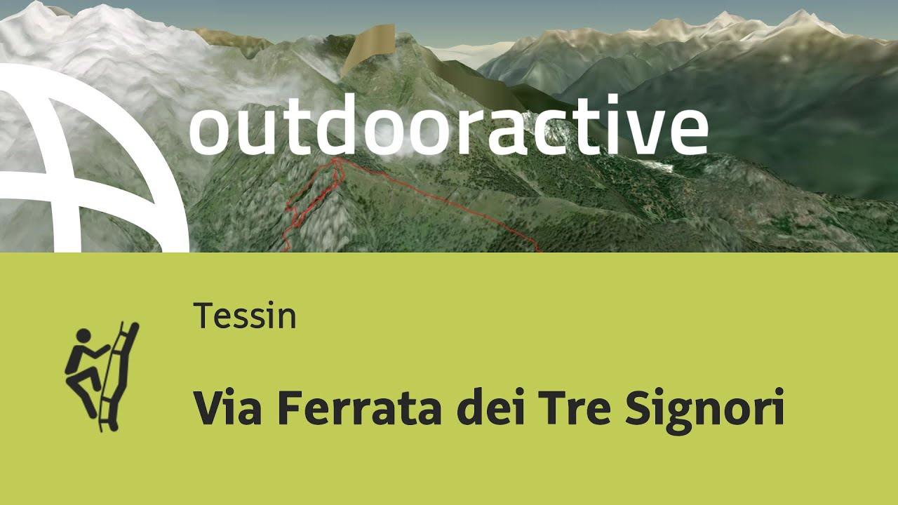Klettersteig Tessin : Klettersteig im tessin via ferrata dei tre signori youtube