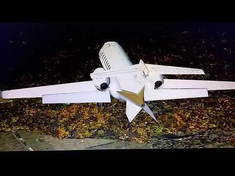 Aterrizaje ILS Bombardier Learjet 45