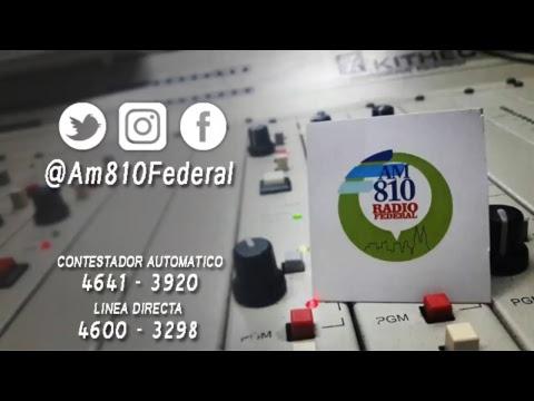 Al Rojo Vivo - 18 Octubre - Radio Federal - EN VIVO-