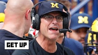 Jim Harbaugh will be on the hot seat if Michigan loses to Ohio State - Marcus Spears | Get Up
