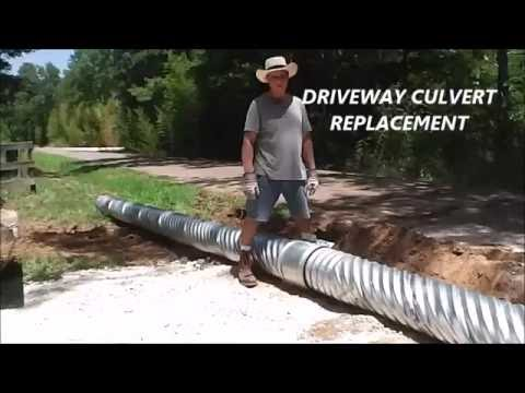 Driveway Culvert Replacement