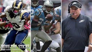 Is Josh Norman a Top 3 Cornerback? | Week 4 Recap | Move The Sticks 10/05/15 | NFL