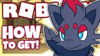 HOW TO GET ZORUA   ROBLOX Pokemon Brick Bronze