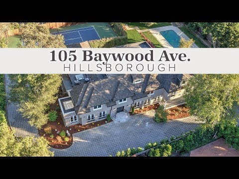 105 Baywood Ave. Hillsborough, CA 94010 - Home for Sale - MLS#: ML81726460
