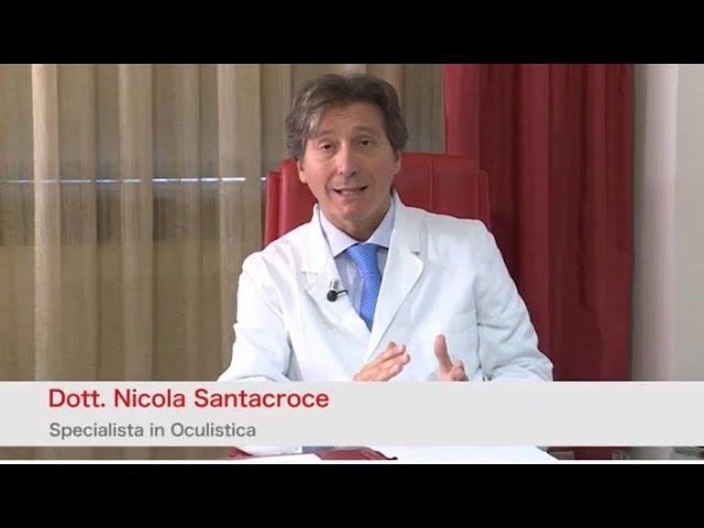 Dott. Santacroce la Chirurgia della cataratta con tecnica Facoemulsificazione e Femtolaser