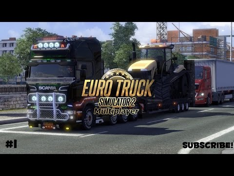 Euro Truck Simulator 2 MP #1: In Scandinavia
