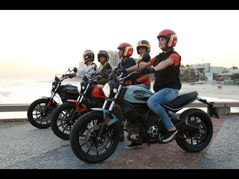 Ducati ra m�... Ducati Scrambler Youtube