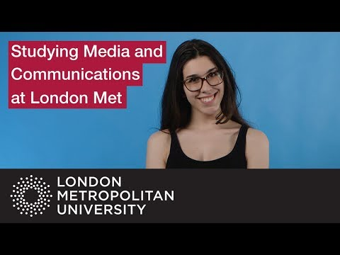 Studying Media And Communications At London Met