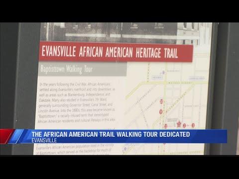 African American Heritage Trail Walking Tour Is Dedicated