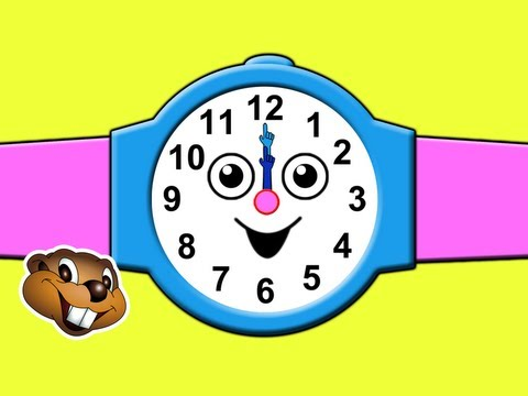 """What Time Is It?"" - Telling the Time Song for Children, What's the Time? Kids English Nursery Songs"