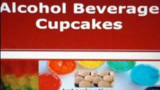 Alcohol Beverage Party Cupcakes